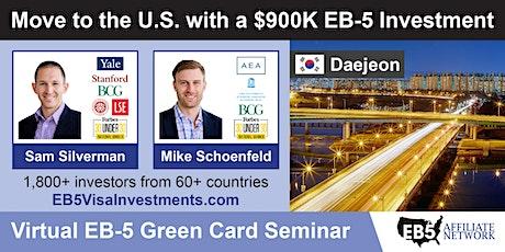 U.S. Green Card Virtual Seminar – Daejeon, South Korea tickets