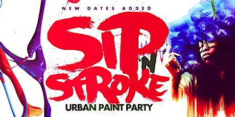 Sip 'N Stroke   9pm - 12am   Secret Gallery   Sip and Paint tickets