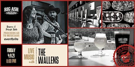 The Wallens Live@ Big Ash! tickets