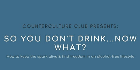 CCC Panel: Finding Purpose & Beating Sobriety Fatigue tickets