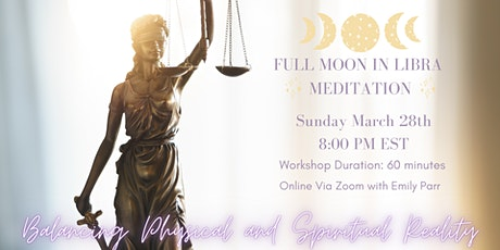 Full Moon in Libra Guided Meditation tickets