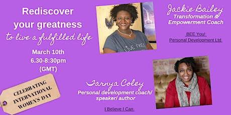Rediscover Your Greatness to Live a Fulfilled Life tickets