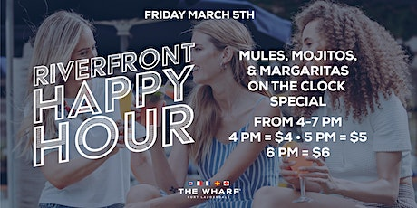 Riverfront Happy Hour at The Wharf FTL tickets