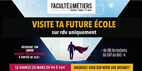 Visite de la Faculté des Métiers Fougères - Métiers carreleur mosaïste billets