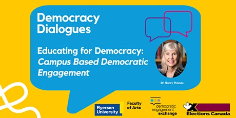 Educating for Democracy: Campus Based Democratic Engagement tickets