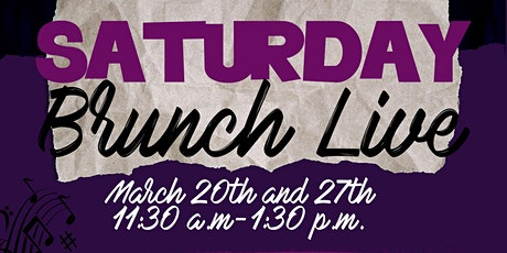 Saturday Brunch Live tickets