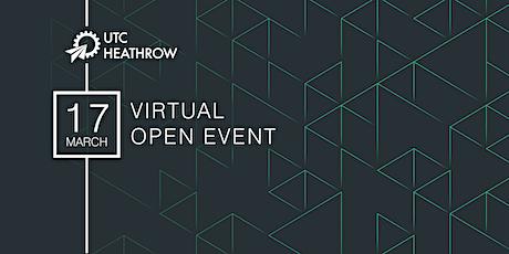UTC Heathrow Virtual Open Event tickets