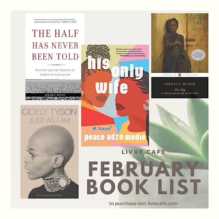Livre Cafe February Book Club Meetup image