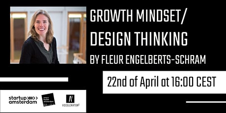 Growth Mindset/Design Thinking tickets