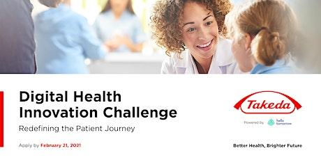 Takeda Digital Health Innovation Challenge - Finals Event tickets