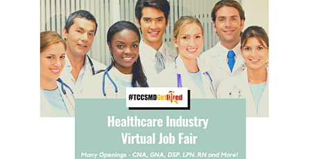 2021 Healthcare Industry Job Fair  - Business Registration tickets