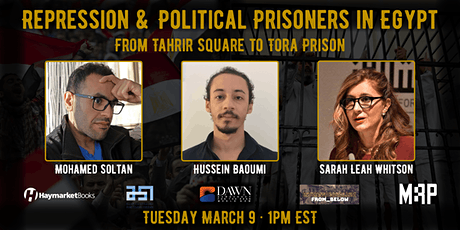 Repression & Political Prisoners in Egypt—From Tahrir Square to Tora Prison ingressos