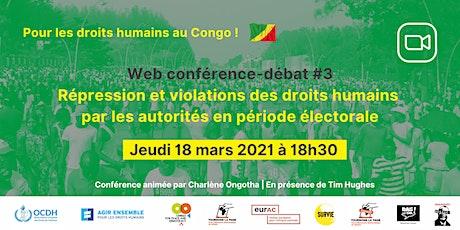 Congo : répression et violations des droits humains par les autorités billets