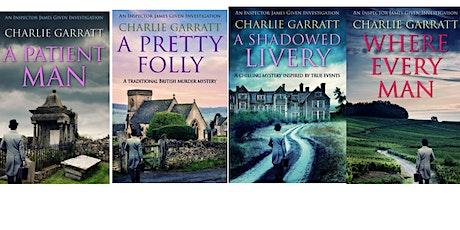Exclusive Virtual Talk with Author Charlie Garratt tickets