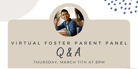 Virtual Foster Parent Q & A Panel - Refugee and Immigrant tickets