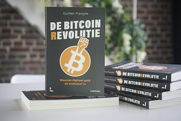Afbeelding van Expert Talk : Quinten Francois inclusief boek De Bitcoinrevolutie