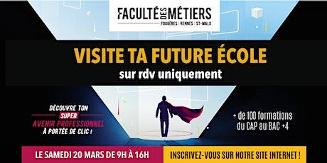 Visite de la Faculté des Métiers Fougères - Métiers de la construction bois billets