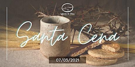 Santa Cena - Marzo entradas