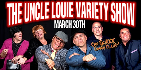 The Uncle Louie Variety Show Live in Naples, Fl tickets