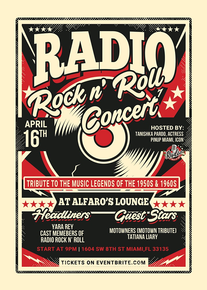 CONCERT RADIO ROCK N' ROLL image