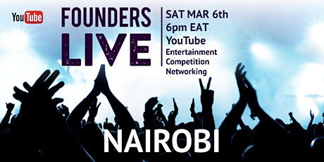 Founders Live Nairobi tickets