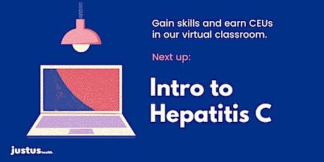 Intro to Hepatitis C tickets