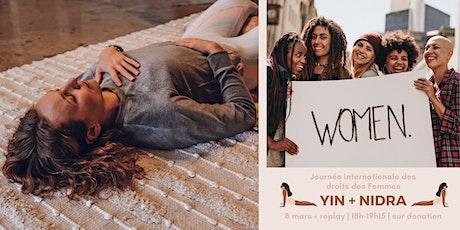 Journée des droits des femmes   Yin + Nidra billets