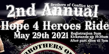 Hope 4 Heroes Motorcycle Ride tickets