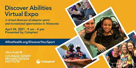 Discover Abilities Virtual Expo,  a showcase of adaptive recreation tickets
