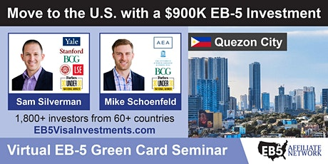 U.S. Green Card Virtual Seminar – Quezon City, Philippines tickets