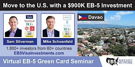 U.S. Green Card Virtual Seminar – Davao, Philippines tickets
