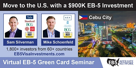 U.S. Green Card Virtual Seminar – Cebu City, Philippines tickets