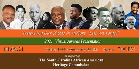Preserving Our Places in History 2021 Annual  Awards Presentation tickets
