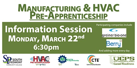 Pre-Apprenticeship Information Session tickets