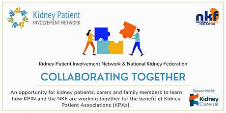 KPIN and NKF Collaborating Together tickets