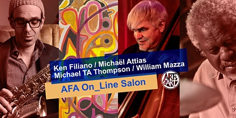 Ken Filiano, Michaël Attias, Michael TA Thompson  |  AFA On_Line Salon tickets