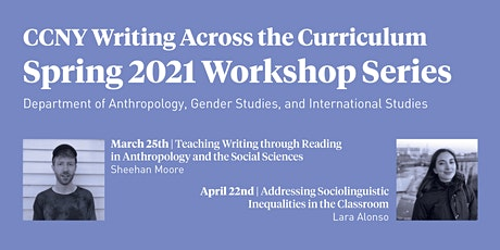 CCNY Writing across the Curriculum Spring 2021 Series tickets
