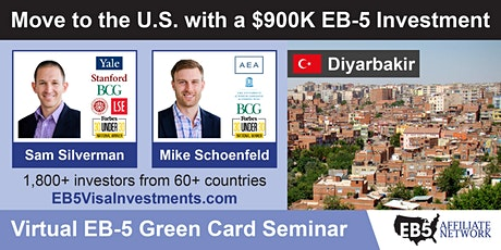 U.S. Green Card Virtual Seminar – Diyarbakir, Turkey tickets