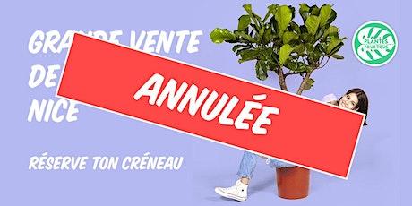 Grande Vente de Plantes Nice billets