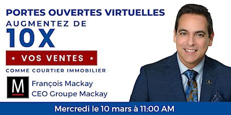 Portes ouvertes virtuelles du Groupe Mackay billets
