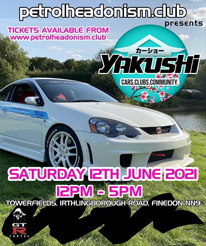 SHOW CAR TICKETS - Petrolheadonism Presents YAKUSH image