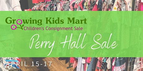 Pop-Up Kids Consignment Sale - Spring 2021 Perry Hall tickets