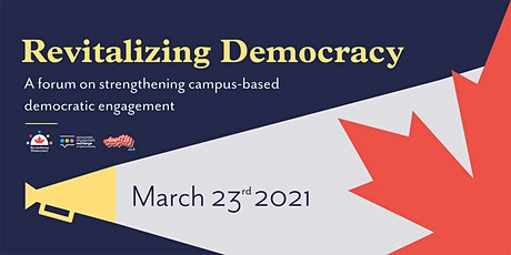 Revitalizing Democracy Forum tickets