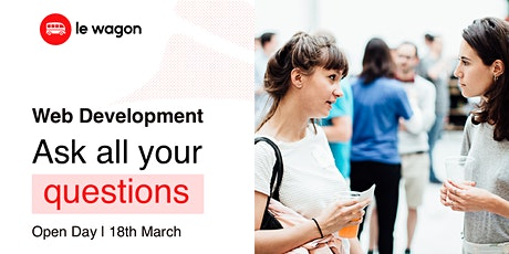 Le Wagon // Web Development - Open Night  [Webinar] tickets