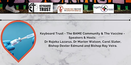 Covid-19 – Is the Vaccine Safe? (BAME  Community) tickets