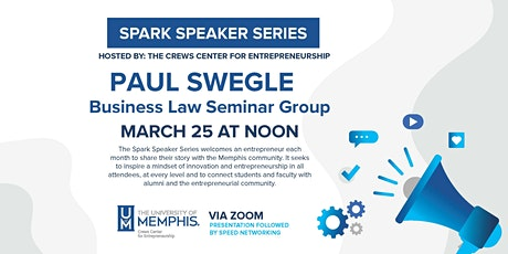 """Building a Company on a Solid Foundation"" with Paul Swegle tickets"