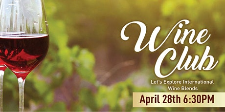 Wine Club: Explore International Blends tickets