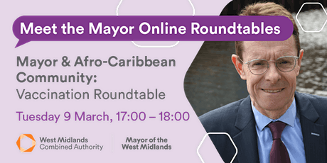 Vaccination Roundtable for the African-Caribbean Community tickets