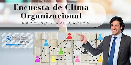 Masterclass - Encuesta de Clima Organizacional boletos