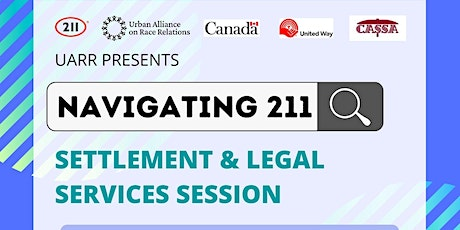 211 Help Line & Settlement Services Webinar for South Asians tickets